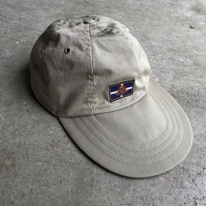 Vintage Polo Ralph Lauren Fitted Long Bill Hat